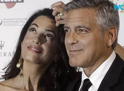 News video: George Clooney Takes the Most Fascinating Person of the Year on a Date
