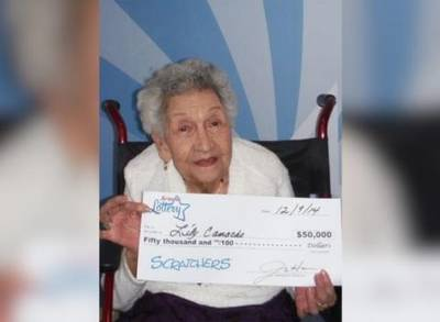 News video: Great, Great, Great, Grandma Wins Big In Arizona Lottery