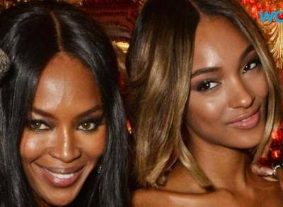 News video: Naomi Campbell and Jourdan Dunn Pose for Burberry